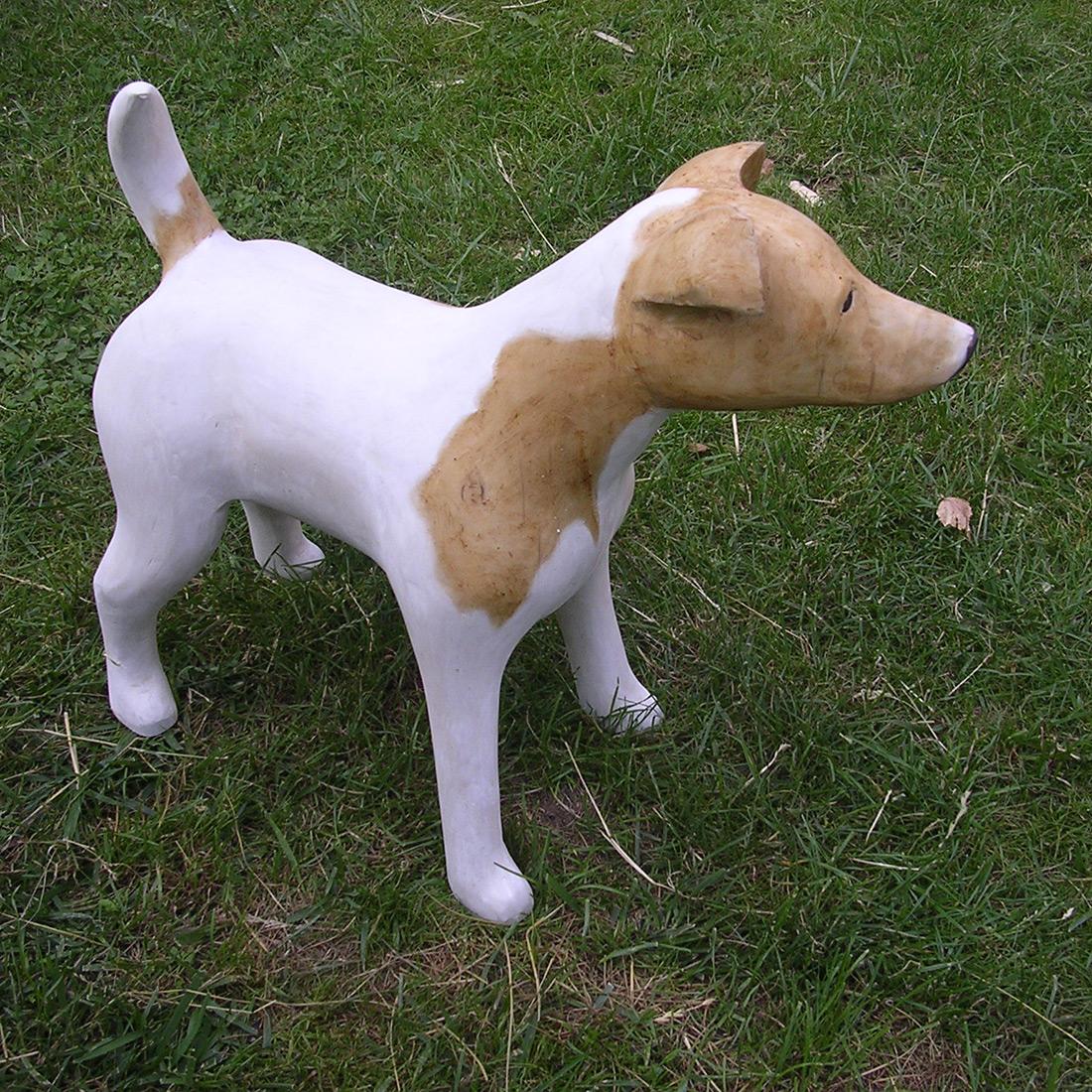Sculpture Formation - commande - sculpture bois - chien